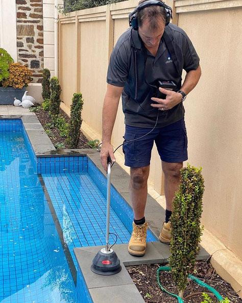 water pool leak detection adelaide pro leak detection
